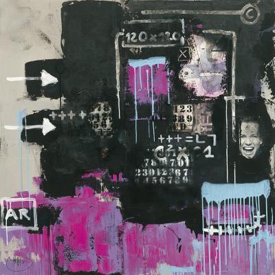 Initiales 92-Eric Trichet-Art Print