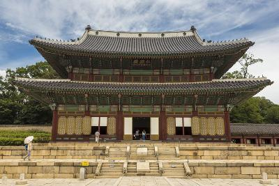 Injeongjeon Main Palace Building, Changdeokgung Palace, Seoul, South Korea, Asia-Eleanor Scriven-Photographic Print