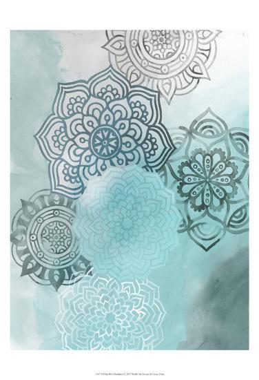 Ink Blot Mandala I-Grace Popp-Art Print