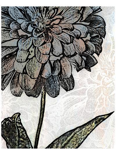 Ink Zinnia I-Christine Zalewski-Art Print
