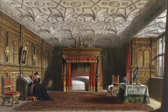 Inlaid Chamber, Sizergh, Westmoreland, 1849-Joseph Nash Elder-Giclee Print