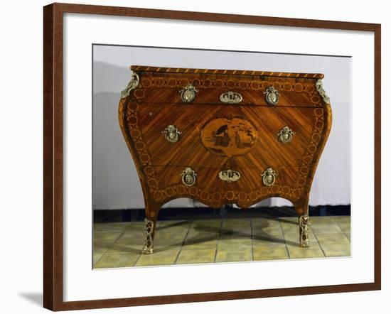Inlaid Drawers by Giuseppe Maggiolini--Framed Giclee Print
