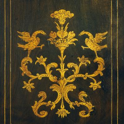 Inlay, Detail from Walnut Tallboy, Spain--Giclee Print