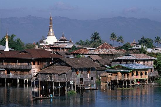 Inle Lake, Shan State, Myanmar--Photographic Print