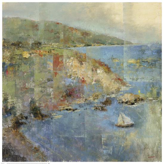 Inlet Retreat-Michael Longo-Art Print