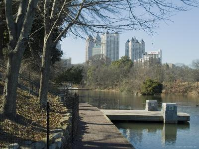 Inman Park, Atlanta, Georgia, USA-Ethel Davies-Photographic Print