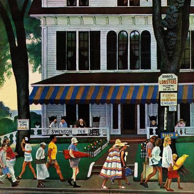 """""""Inn in Ogunquit,"""" August 2, 1947-John Falter-Giclee Print"""