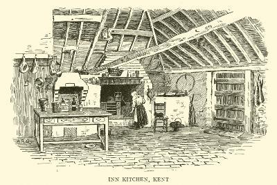 Inn Kitchen, Kent-Alfred Robert Quinton-Giclee Print