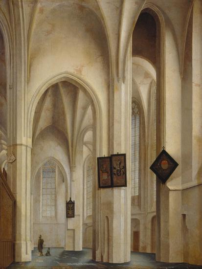 Innenansicht Der St.Jakobs-Kirche in Utrecht, 1642-Pieter Jansz Saenredam-Giclee Print