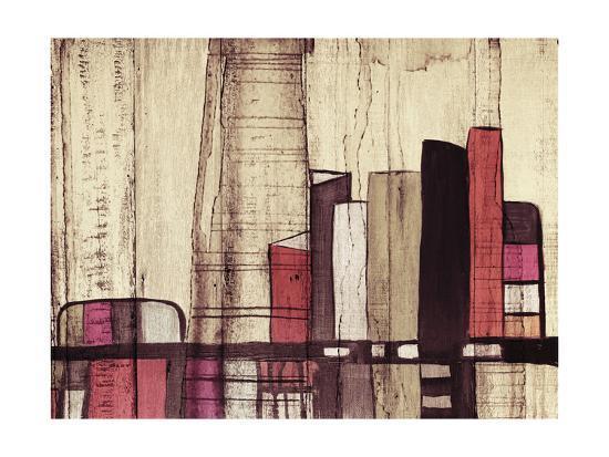 Inner City I-Irena Orlov-Art Print