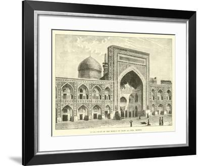 Inner Court of the Mosque of Imam Ali Riza, Meshed--Framed Giclee Print