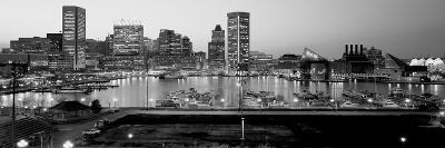 Inner Harbor, Baltimore, Maryland, USA--Photographic Print