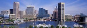 Inner Harbor Federal Hill Skyline Baltimore, MD