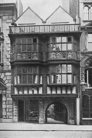 Inner Temple Gate House, City of London, c1900 (1911)-Unknown-Photographic Print