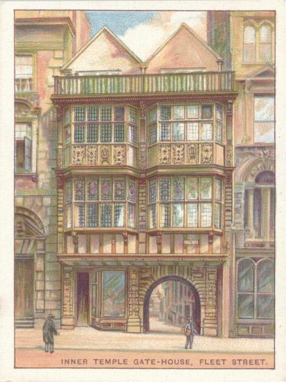 'Inner Temple Gate-House, Fleet Street', 1929-Unknown-Giclee Print