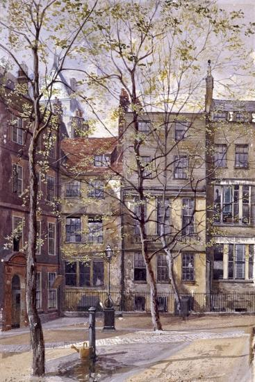 Inner Temple, London, 1880-John Crowther-Giclee Print