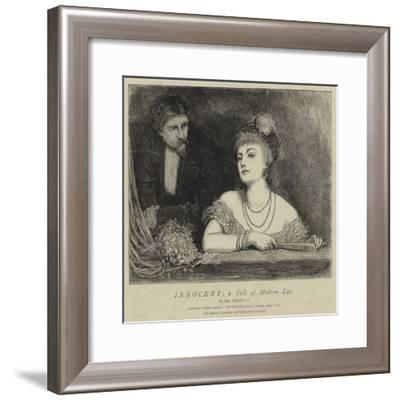 Innocent, a Tale of Modern Life--Framed Giclee Print