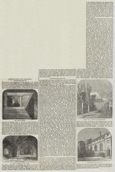Inns of Court and Chancery--Giclee Print
