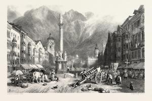 Innsbruck, Tyrol, Austria, 19th Century