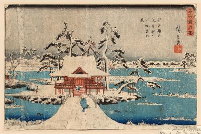 Inokashira No Ike Benzaiten No Yashiro-Utagawa Hiroshige-Giclee Print