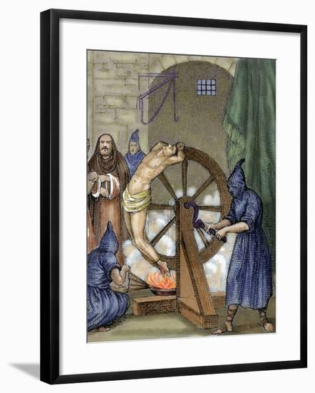 Inquisition. Instrument of Torture, Wheel of Fortune-Prisma Archivo-Framed Photographic Print