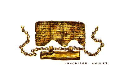 Inscribed Amulet, 1923--Giclee Print