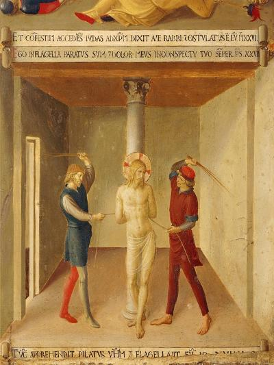 Inset Depicting Flogging of Jesus, Panel from Armadio Degli Argenti--Giclee Print