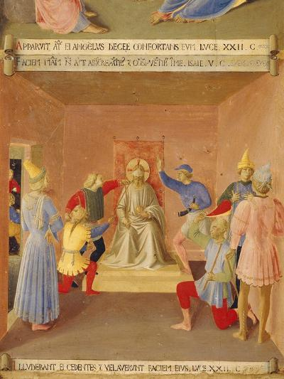 Inset Depicting Jesus Being Mocked, Panel from Armadio Degli Argenti--Giclee Print