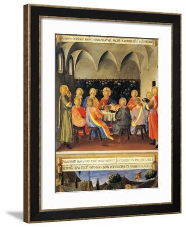 Inset Depicting Last Supper, Panel from Armadio Degli Argenti--Framed Giclee Print