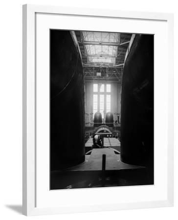 Inside Battersea--Framed Photographic Print