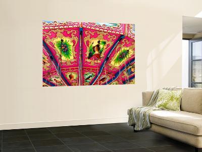 Inside Ceiling Detail of Carousel-David Ryan-Giant Art Print