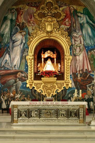 Inside Church, Candelaria, Tenerife, 2007-Peter Thompson-Photographic Print
