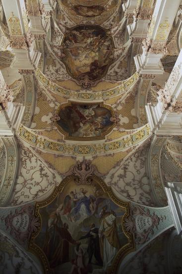Inside Church of Holy Spirit, Munich. Germany.--Giclee Print
