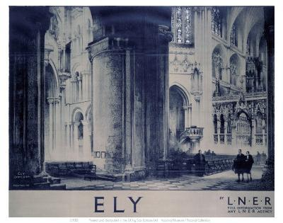 Inside Ely Cathedral--Art Print