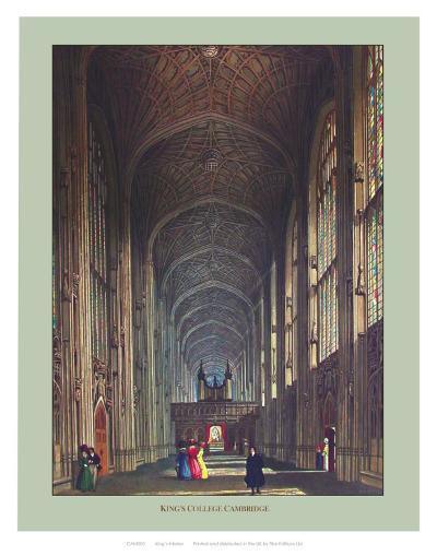 Inside King's College--Art Print