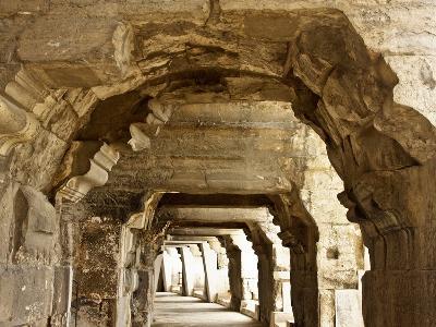 Inside Nîmes' Arena-cec72-Photographic Print