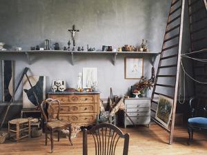 Inside Paul Cezanne's Workshop (1839-1906), Aix-En-Provence, Provence-Alpes-Cote D'Azur, France