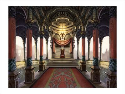 Inside the Castle of the Orient: The King Who Sits on the Throne-Kyo Nakayama-Giclee Print