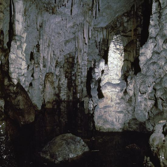 Inside the Diktaen cave-Unknown-Photographic Print
