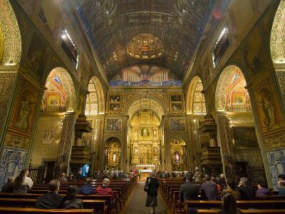 Inside the Igreja Do Colegio, Funchal, Madeira, Portugal, Europe-Michael Runkel-Photographic Print