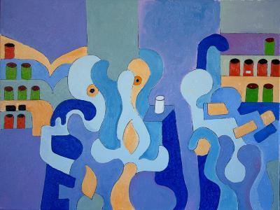 Inside the Pharmacy, 2009-Jan Groneberg-Giclee Print