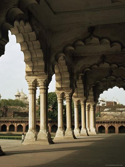 Inside the Red Fort, Agra, Unesco World Heritage Site, Uttar Pradesh, India--G Richardson-Photographic Print