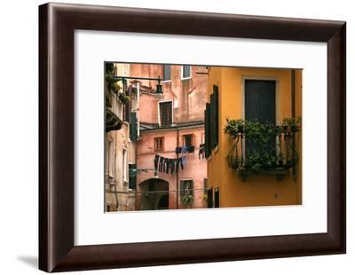 Inside Yard, Venice-Igor Maloratsky-Framed Art Print