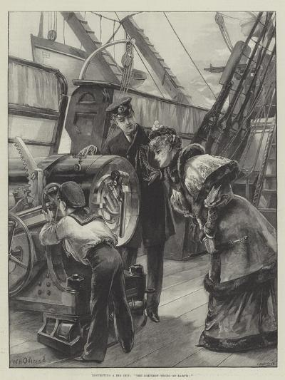 Inspecting a Big Gun, The Simplest Thing on Earth!-William Heysham Overend-Giclee Print