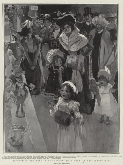 Inspecting the Toys in the Truth Doll Show at the Albert Hall-Frank Craig-Giclee Print