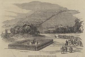 Inspection of the Second Royal Surrey Militia, at Guildford