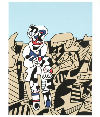 Inspection of the Territory-Jean Dubuffet-Collectable Print