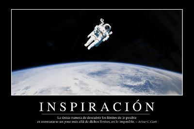 Inspiración. Cita Inspiradora Y Póster Motivacional--Photographic Print