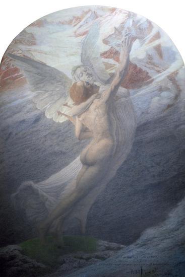 Inspiration, 1902-Carlos Schwabe-Giclee Print