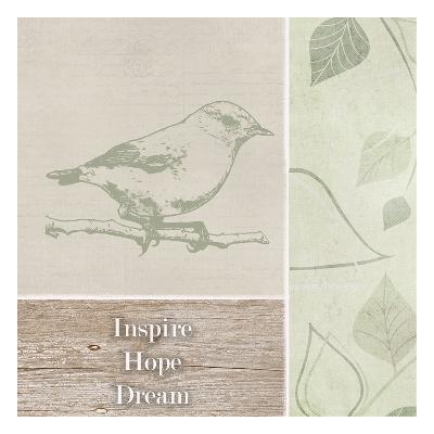 Inspire Hope Dream Bird-Taylor Greene-Art Print